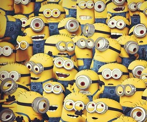 minions, yellow, and despicable me image