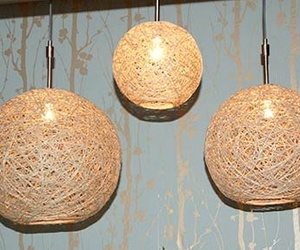 diy, lamps, and hemp lamps image