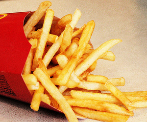 food, French Fries, and chips image