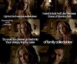 the vampire diaries, tvd, and klaroline image