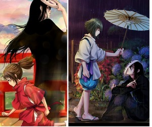 spirited away and no face image