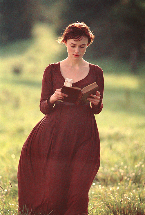 book, keira knightley, and pride and prejudice image
