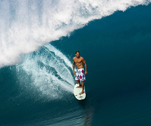 blue, surf, and boy image