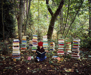 book, kids, and nature image