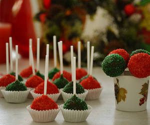 cakes, christmas, and green image