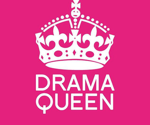 drama, pink, and Queen image