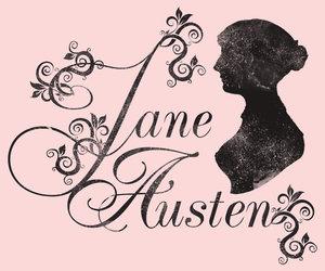 jane austen and pink image