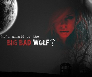 big bad wolf, moon, and billie piper image