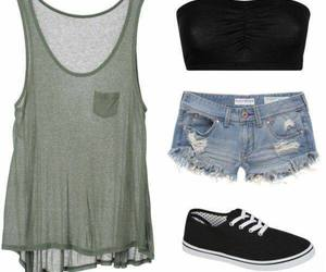 outfit, girl, and summer image
