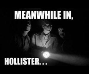 hollister, funny, and lol image