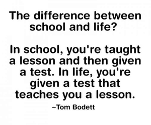 lessons, life, and school image