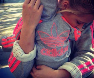 adidas, baby, and pink image