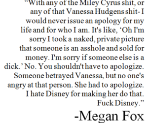 megan fox, quote, and miley cyrus image