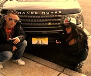 snooki, range rover, and situation image