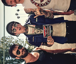 christofer drew, nsn, and never shout never image