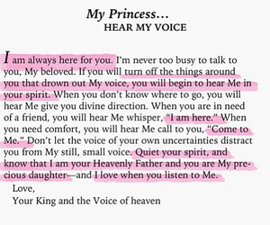 god, princess, and quotes image