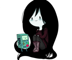 marceline, bimo, and adventure time image