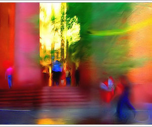 colorful and new york image