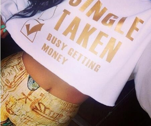 gold, money, and problems image