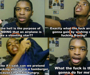 airplane, kingsley, and funny image