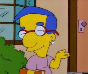 the simpsons, simpsons, and milhouse image