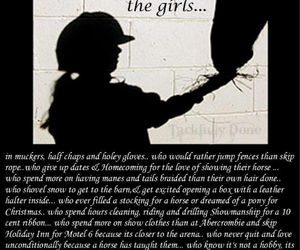 quotes, car, and horse girls image