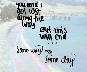 Lyrics, rainbow, and transparent image