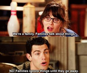 new girl, schmidt, and jess image