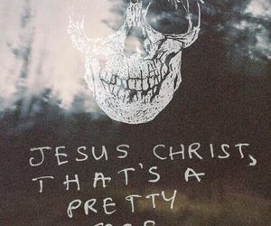 skull, pretty, and quote image