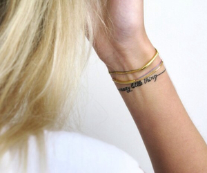 tattoo, crazy, and blonde image