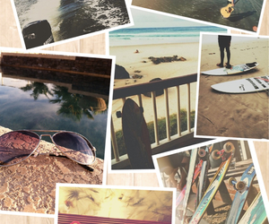aviators, beach, and Collage image