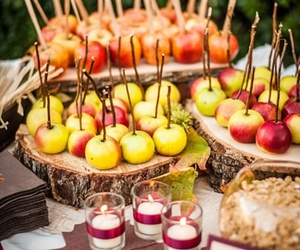 apples, autumn, and candy image