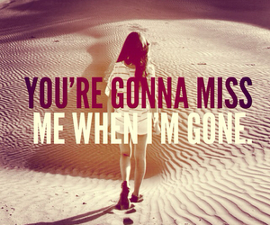 miss, gone, and quote image