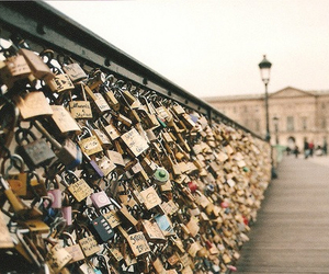 love, paris, and city image
