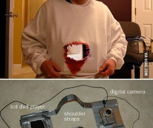funny, Halloween, and camera image