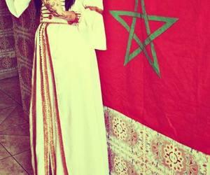morocco and drapeau image