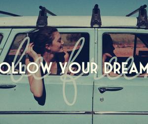 Dream, follow, and car image