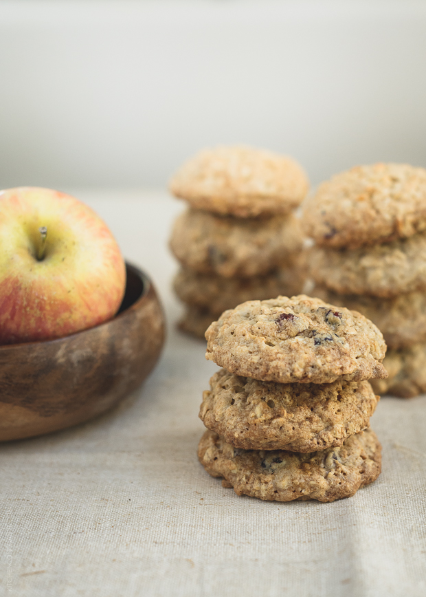 apple, Cookies, and oatmeal image