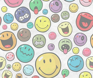 wallpaper, face, and smile image