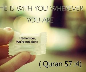 quran, islam, and quotes image