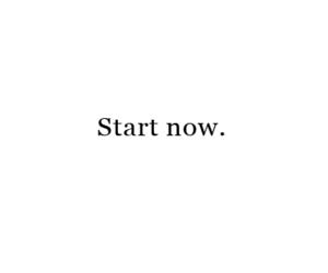 motivation and start now image
