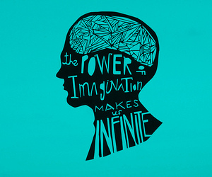 imagination, infinite, and power image