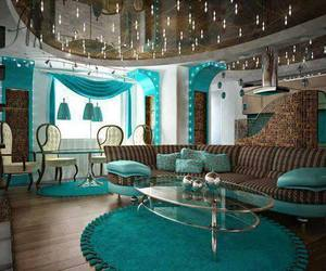 room and turquoise image