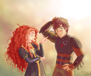 brave, valente, and hiccup image