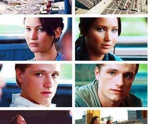 catching fire, the hunger games, and katniss everdeen image