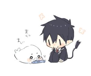 adorable, anime, and chibi image