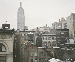 city, photography, and vintage image