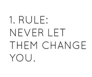 rules, quotes, and change image