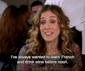 carrie, sex and the city, and Carrie Bradshaw image
