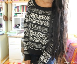 sweater, fashion, and quality image